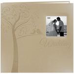 """Tree - Embossed Wedding Post Bound Album 12""""X12"""""""