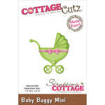 Baby Buggy Mini Die - CottageCutz
