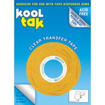 Kool Tak Permanent Clear Dispenser Tape