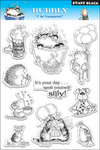 Bubbly - Penny Black Clear Stamps