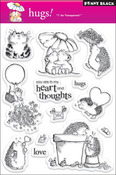 Hugs - Penny Black Clear Stamps
