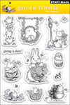 Garden Friends - Penny Black Clear Stamps