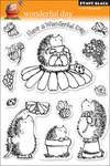 Wonderful Day - Penny Black Clear Stamps