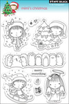Mimi's Christmas - Penny Black Clear Stamps