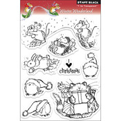 Winter Wonderland - Penny Black Clear Stamps