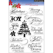 Winter Wonders - Penny Black Clear Stamps
