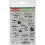 Eloquence - Penny Black Clear Stamps