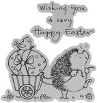 Easter March - Penny Black Cling Rubber Stamp