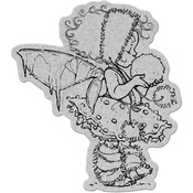 Winter Fairy - Penny Black Cling Rubber Stamp