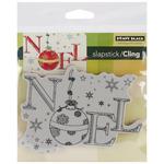 Ornamental Noel - Penny Black Cling Rubber Stamp