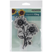 Sunny Pair - Penny Black Cling Rubber Stamp