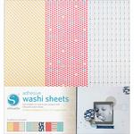 "Silhouette Adhesive Back Washi Paper 12""X12"" 3/Pkg-"