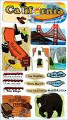 California - Jolee's Boutique Dimensional Stickers