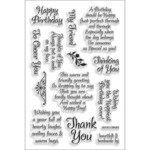 Friendly Phrase - Stampendous Perfectly Clear Stamps