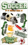 Soccer - Paper House 3D Stickers