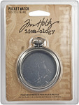 Antique Nickel - Idea-Ology Pocket Watch Frame 2""
