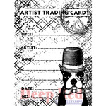 ATC Prof. Boston - Deep Red Cling Stamp