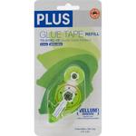 Plus Permanent Vellum Glue Tape Refill