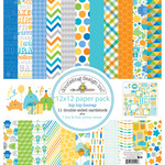 "Hip Hip Hooray Paper Pack 12""X12"" - Doodlebug"