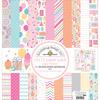 """Sugar Shoppe Paper Pack 12""""X12"""" - Doodlebug"""