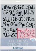 Contempo - Lettering Stencil 4pc Sets