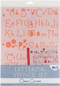 Clean Curves - Lettering Stencil Sets