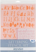 Animation - Lettering Stencil Sets