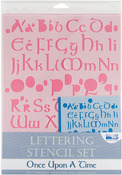 Once Upon A Time - Lettering Stencil Sets