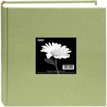 "Sage Green - Cloth Photo Album W/Frame 9""X9"""