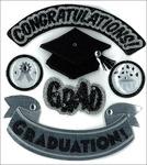 Hats Off Grad - Jolee's Seasonal Stickers