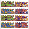 Happy Birthday Words - Jolee's Mini Repeats Stickers