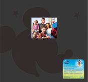 "Disney Mickey Post Bound Album 12""X12"""