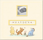 "Disney Classic Pooh Frame - A - Name Post Bound Album 12""X12"""