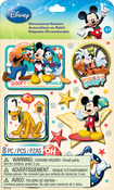 Mickey Family Boys - Disney Dimensional Stickers