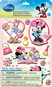 Mickey Family Girls - Disney Dimensional Stickers