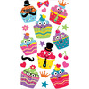 Dress Up Cupcakes Classic Stickers - Sticko Stickers