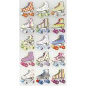 Bright Roller Skates Classic Sticko Stickers