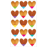 Color Dipped Hearts Classic Stickers- Sticko Stickers