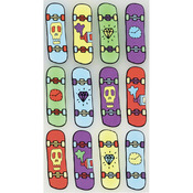 Cool Skateboards Classic Stickers - Sticko