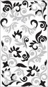 Silver Flourish - Sticko Classic Stickers