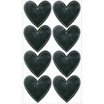 Chalk Hearts Classic Stickers - Sticko Stickers