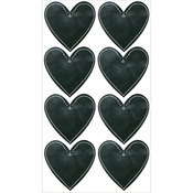 Chalk Hearts Classic Stickers - Sticko Stickers