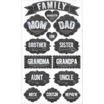 Family - Sticko Chalk Stickers