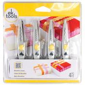 Decorative Scissors 4/Pkg - Deckle, Wave, Scallop & Zigzag