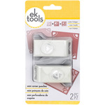 King Of Hearts - Mini Corner Rounder Punches 2/Pkg