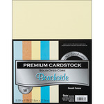 """Beachside - Smooth - Core'dinations Value Pack Cardstock 8.5""""X11"""" 50/Pkg"""