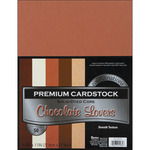"""Chocolate Lovers - Smooth - Core'dinations Value Pack Cardstock 8.5""""X11"""" 50/Pkg"""