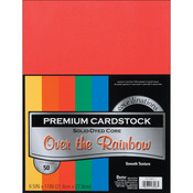 "Primary - Smooth - Core'dinations Value Pack Cardstock 8.5""X11"" 50/Pkg"