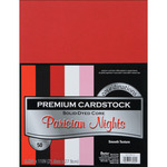 """Parisian Nights - Smooth - Core'dinations Value Pack Cardstock 8.5""""X11"""" 50/Pkg"""