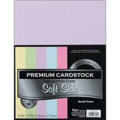 "Soft Side - Smooth - Core'dinations Value Pack Cardstock 8.5""X11"" 50/Pkg"